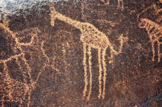 Древний жираф