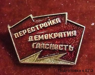 Лозунги перестройки в СССР