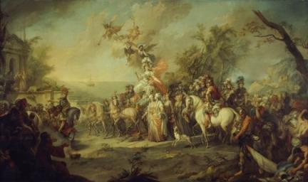 Победа Екатерины над турками_ Стефано Торелли (1772)