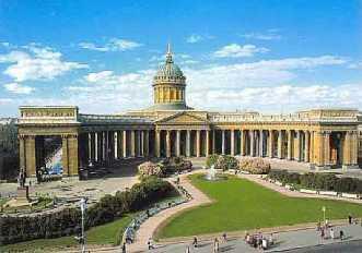 А.Н. Воронихин. Казанский собор в Санкт-Петербурге, 1801—1811гг.