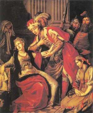 А.П. Лосенко. «Владимир и Рогнеда», 1770 г.