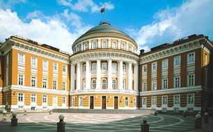 М. Ф. Казаков. Здание Сената в Москве. Кремль, 1776—1787 гг.