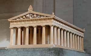 Парфенон. Афинский Акрополь. Реконструкция
