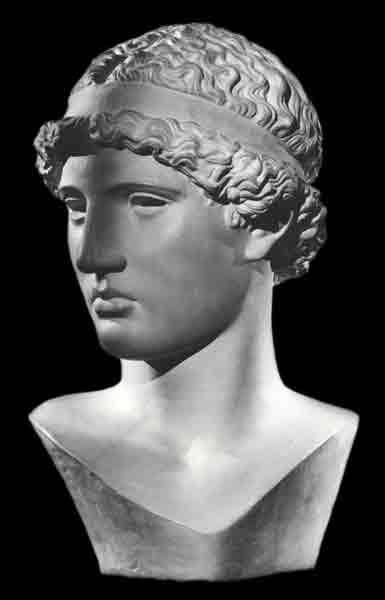 Фидий. Голова Афины Лемнии.