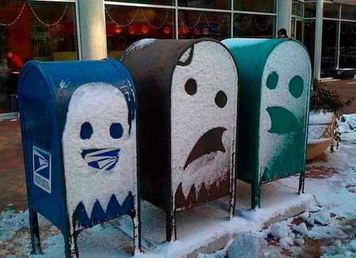 Ругающийся почтовый ящик :)