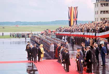 Посещение Елизаветой Второй ФРГ в 1965 году