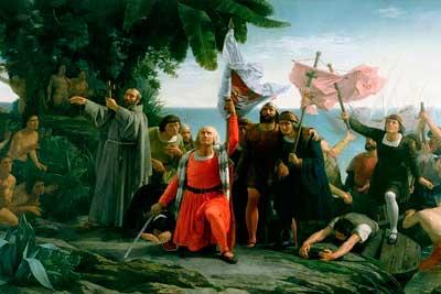 Колумб открывает Америку