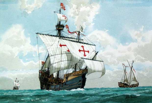 Каравелла. Корабли Колумба