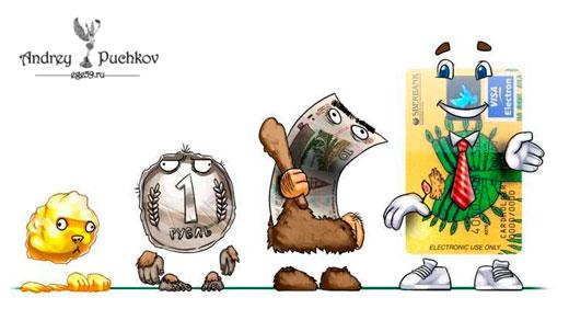 трансформация денег в мировой экономике