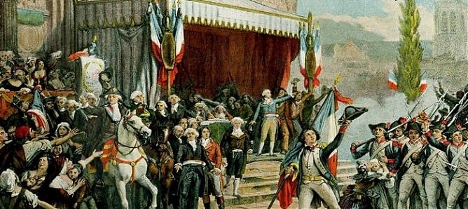 Причины Великой французской революции