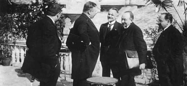 Подписание Рапалльского договора