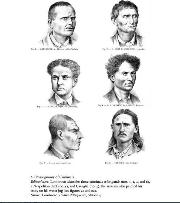 Типология личностей по Ломброзо