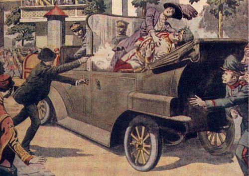 В каком году началась первая мировая война