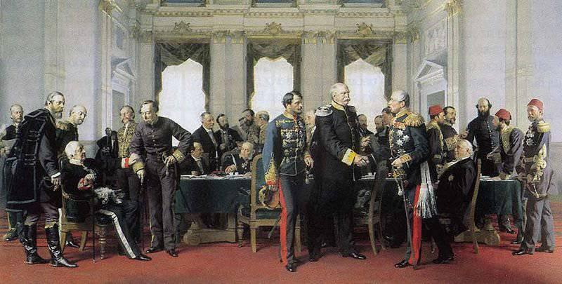 Заключение мирного договора во Франфурте 10 мая 1871 года