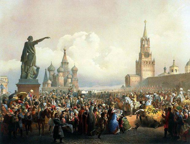 Провозглашение России империей