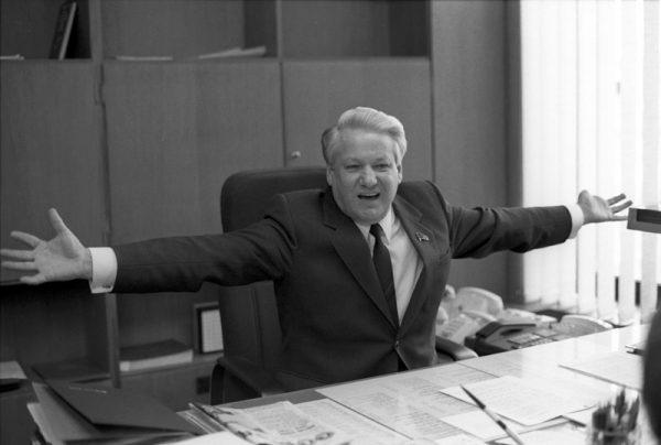 Суровые анекдоты про Ельцина-Беню