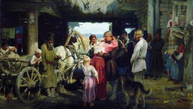 Миф о том, что крепостное право - зло в истории России
