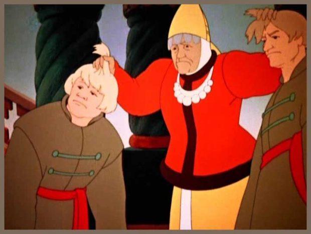 Кадр из известного мультфильма
