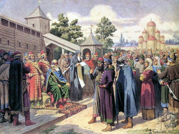 Полюдье в Древней Руси это...