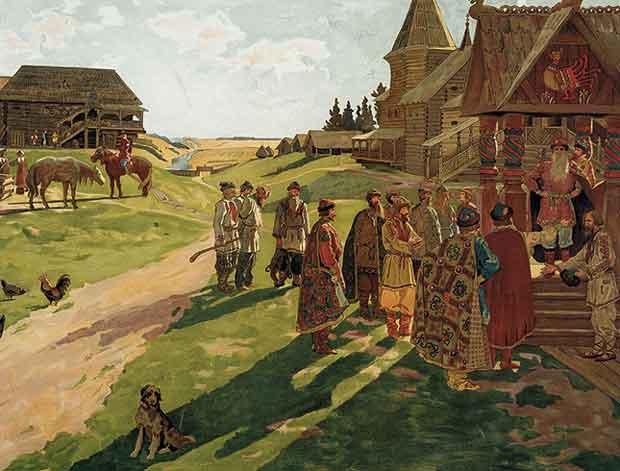 Вотчина в Древней Руси это...