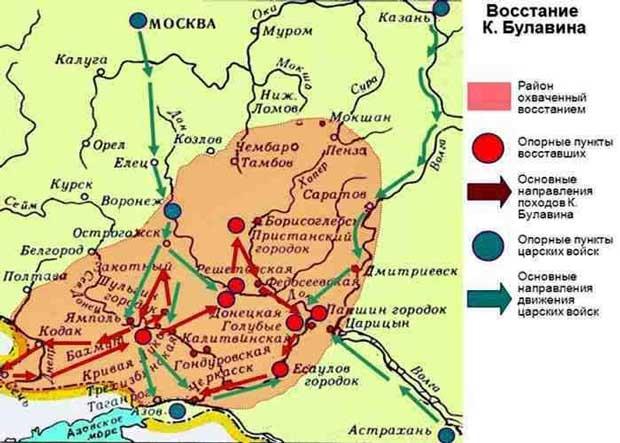 Восстание Кондратия Булавина